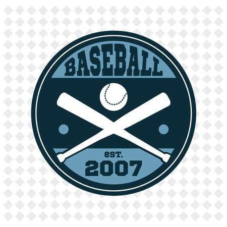established: baseball badge