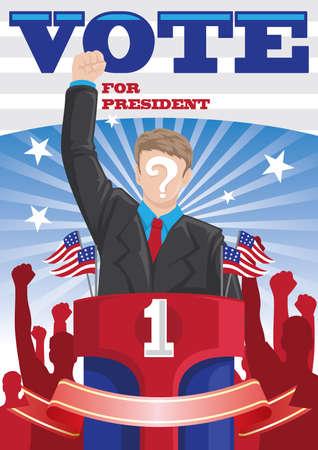 vote for president poster