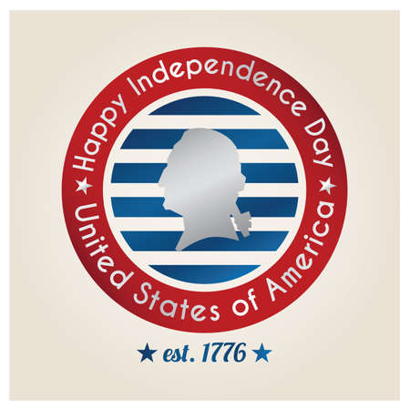 est: independence day label of usa