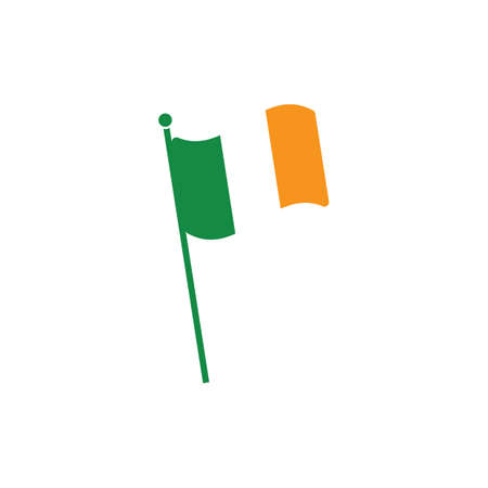 irish flag: irish flag Illustration