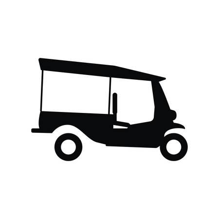 auto rickshaw: auto rickshaw Illustration