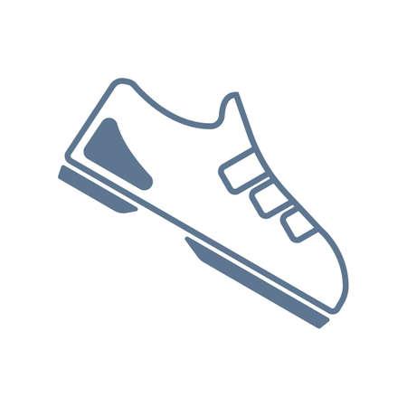 sports shoe: sports shoe Illustration