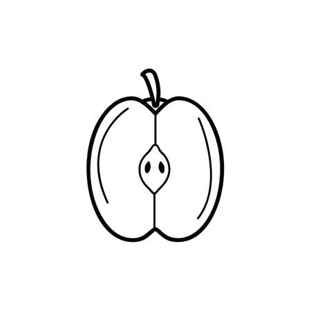 the cut: cut apple