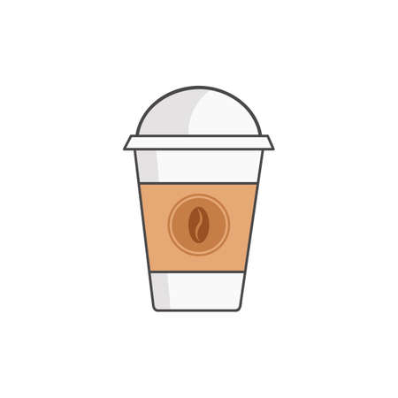 paper cup: coffee in paper cup