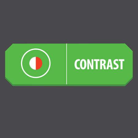 contrast: contrast web button