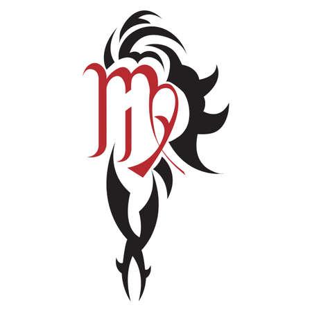 virgo: virgo tattoo