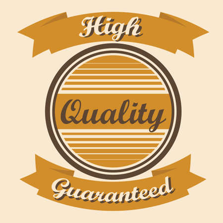 high: high quality label