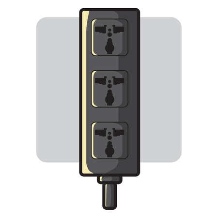 outlet: portable outlet electrical socket