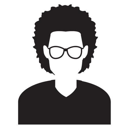specs: faceless man