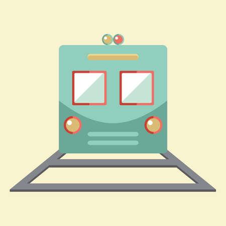 goods train: train Illustration