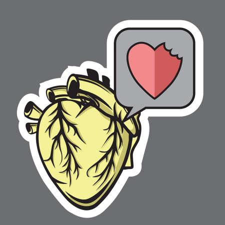 bitten: bitten heart