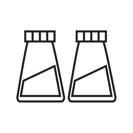 shakers: salt and pepper shakers Illustration