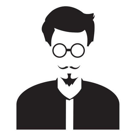 faceless: faceless man in casual wear