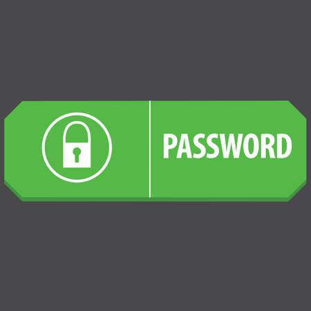 password: password web button
