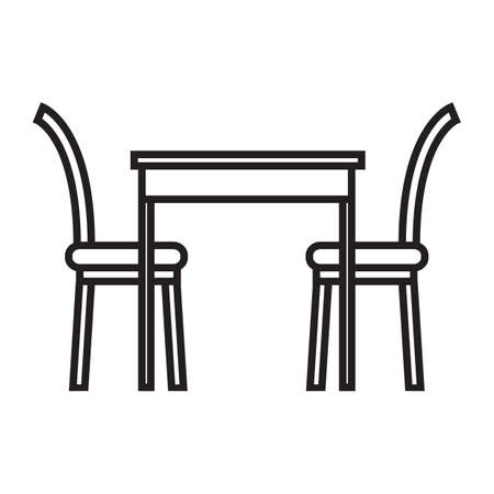 dining table: dining table and chairs