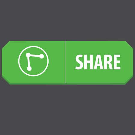 web: share web button