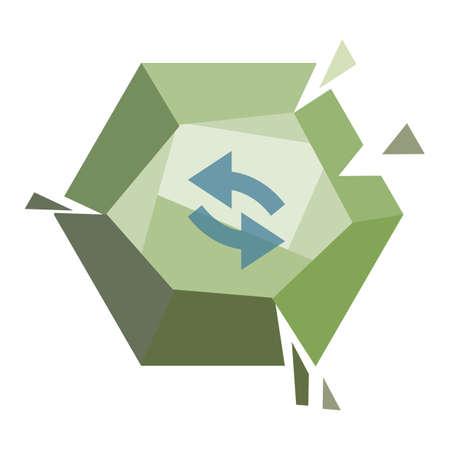 sync: sync button Illustration