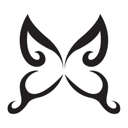 Tatouage de papillon Banque d'images - 53005407