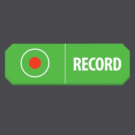 web: record web button