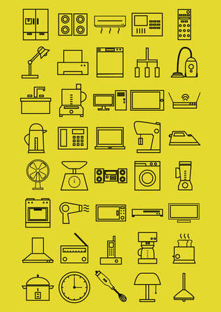 pc icon: home electrical appliances