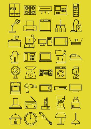 clock radio: home electrical appliances