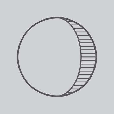 왁싱 초승달
