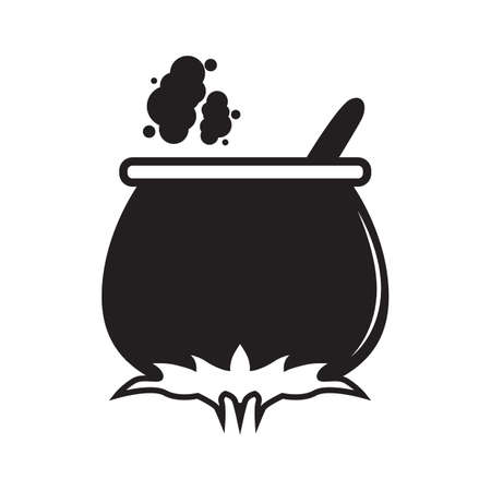 cauldron: silhouette of a cauldron