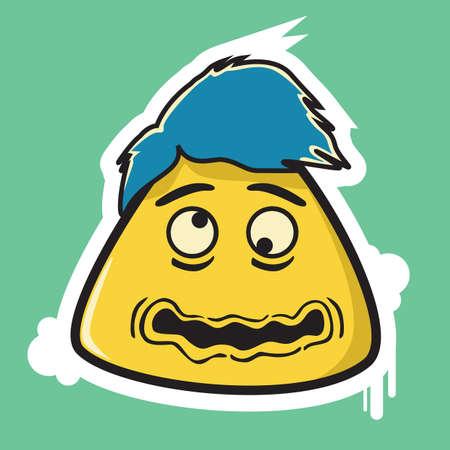 dizzy: beat up emoticon