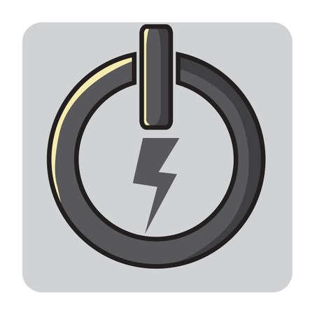 shutdown: power button