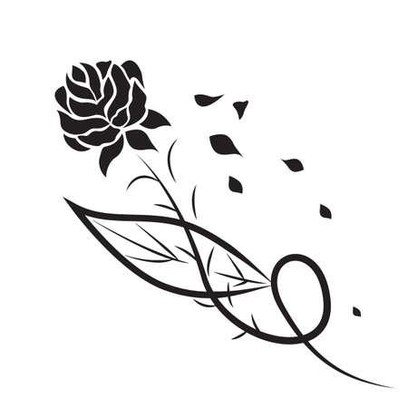 rose tattoo: rose tattoo