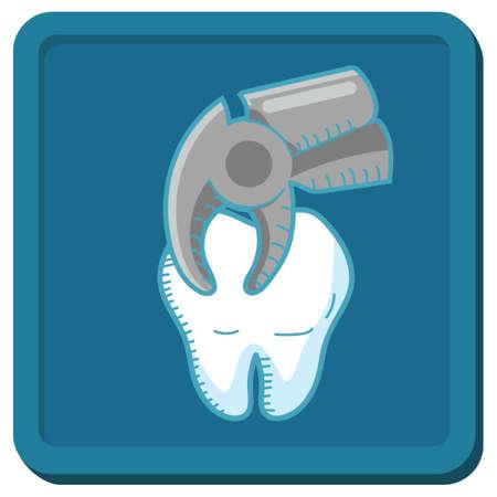 alicates: diente con los alicates