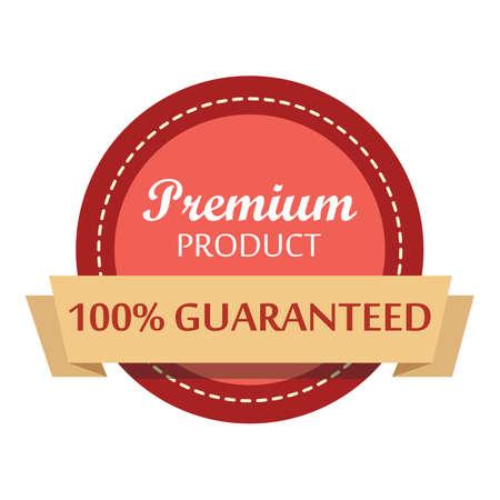 guaranteed label Illustration