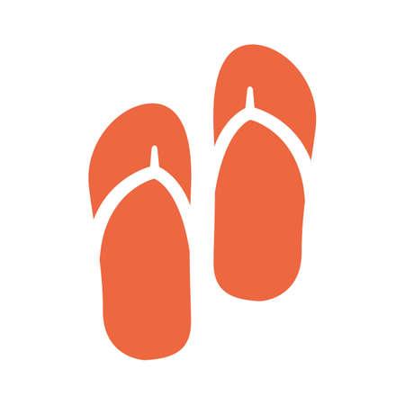 seashores: slippers