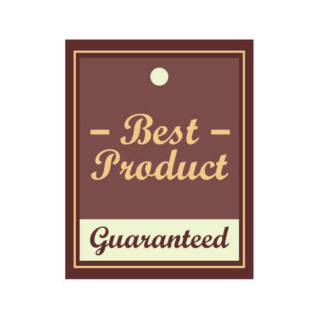 the best: best product label