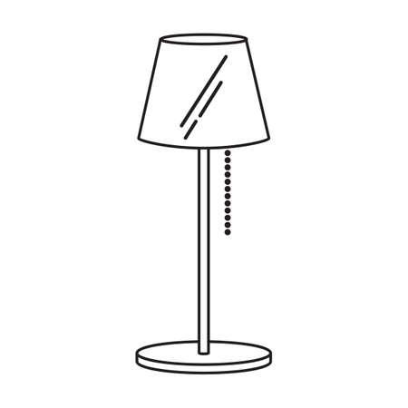 floor lamp: floor lamp Illustration