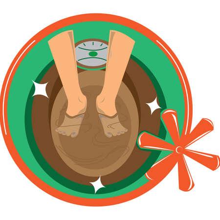 foot spa: foot spa