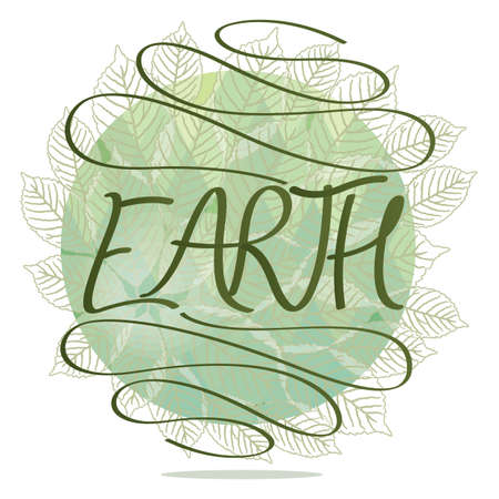 logo: earth logo Illustration