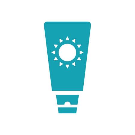 moisturizer: sunscreen Illustration