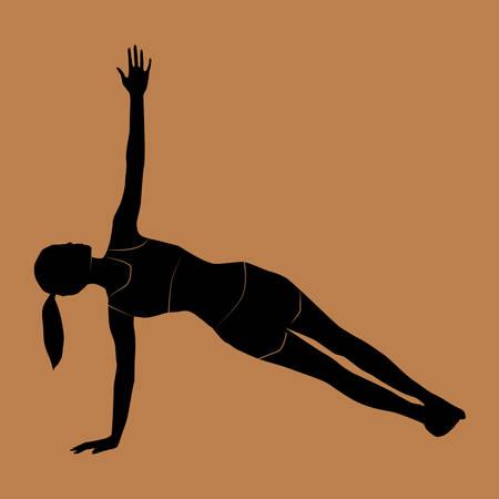 arm: arm balance Illustration