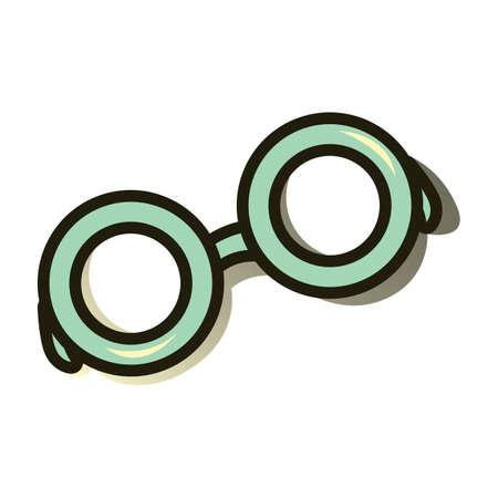 eye wear: eye glasses