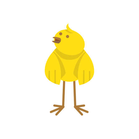 chick: easter chick Illustration