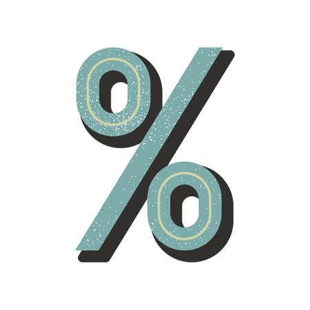 percentage: percentage symbol