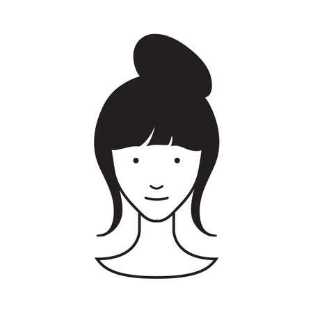 Coiffure pour les femmes Banque d'images - 53048965
