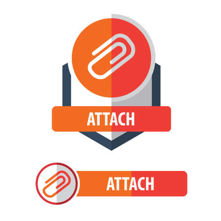 attach button