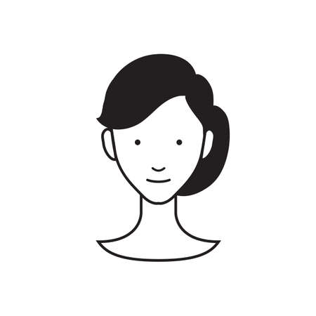 tied girl: hairstyle for women