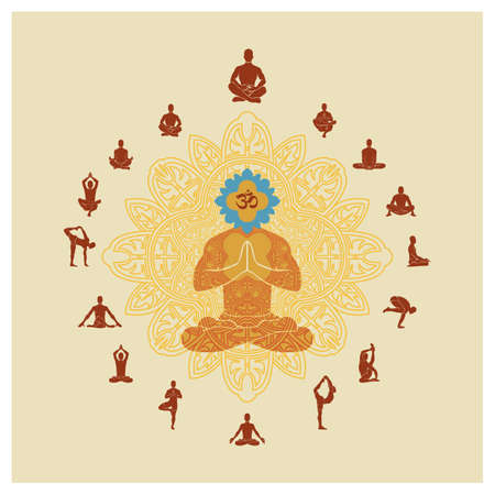 postures: collection of yoga postures