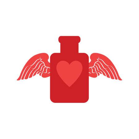 pocion: Poci�n de amor con alas