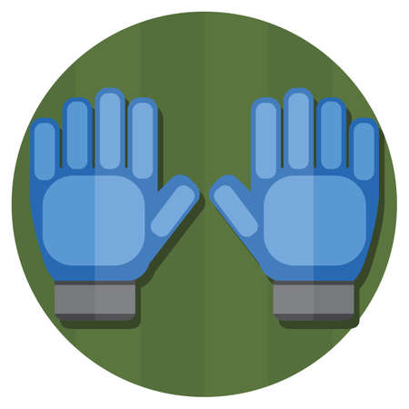 arquero de futbol: guantes de portero