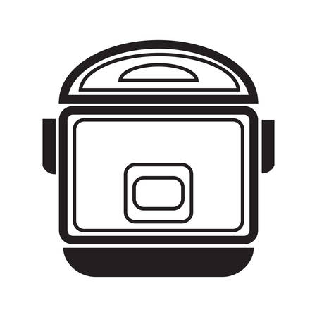 cookers: electric cooker Illustration