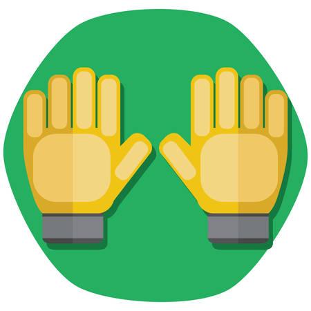 keeper: goalkeeper gloves